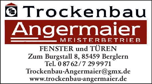 Logo Trockenbau Angermaier