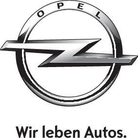 Opel logo 1c schwarz